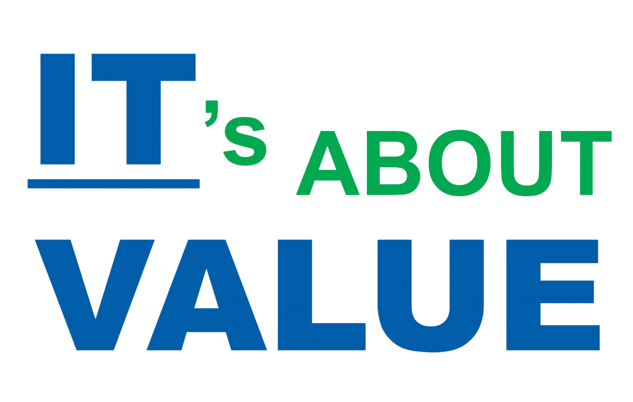 IT's about VALUE