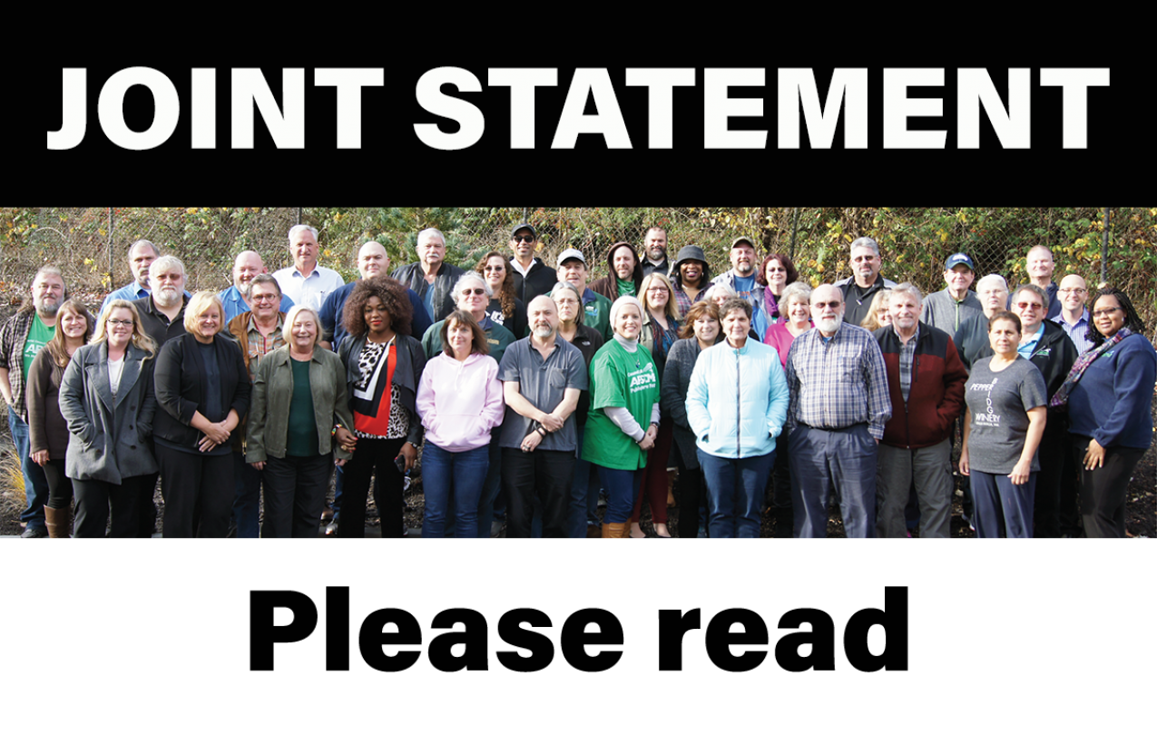 General Government Joint Statement
