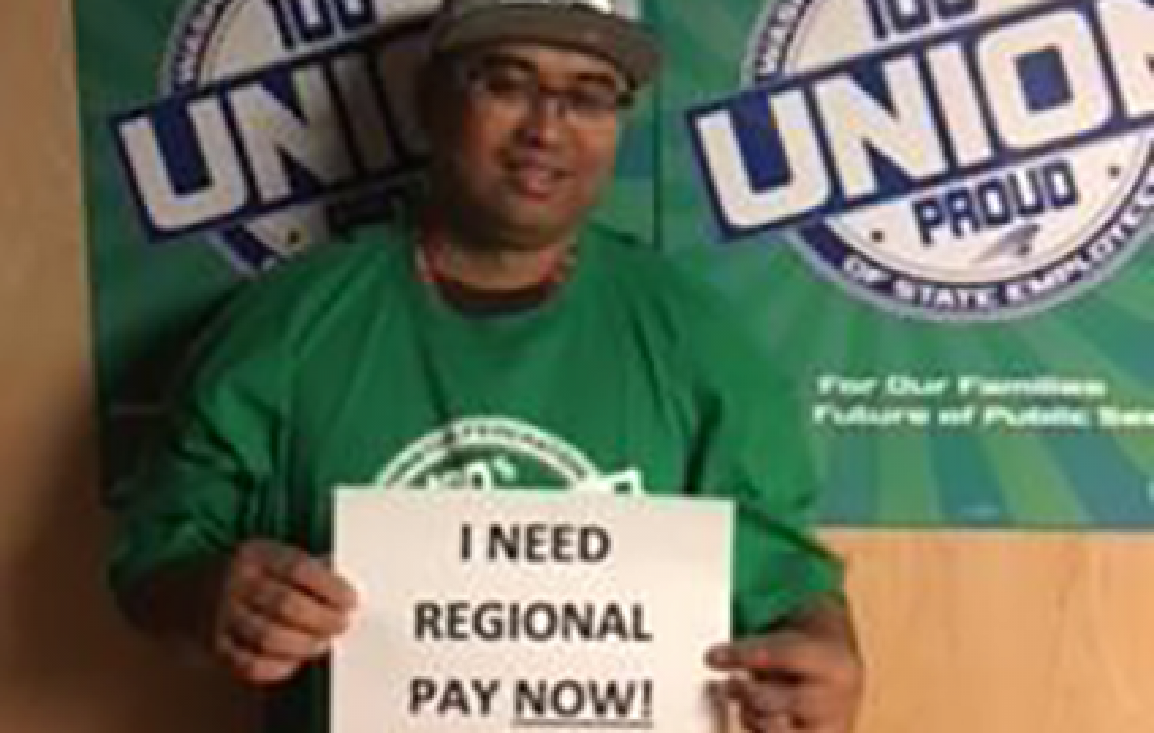 TAKE ACTION Regional Pay